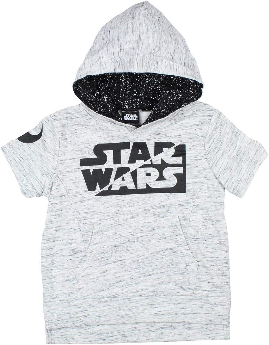 Star Wars Little Boy's Glow In The Dark Short Sleeve Hoodie