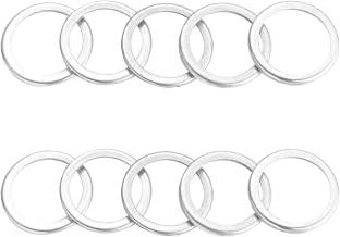 10pcs Oil Pan Drain Plug Gasket Washer for Subaru Outback Forester Baja Impreza WRX STi Legacy Tribeca Justy Loyale SVX XT DL GL RS RX 1985-2017, Replacement # 11126AA000