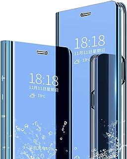 حافظة XINKOE لجهاز Xiaomi Mi 9 SE ذات مرآة رفيعة للغاية، غطاء واقف مضاد للانزلاق مضاد للسقوط غطاء قلاب لهاتف Xiaomi Mi 9 S...