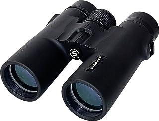 SVBONY SV21 Binoculars 10x42 Compact Binoculars Multi Coated Roof Prism with Twist-up Outdoor Binoculars for Shooting Hunt...