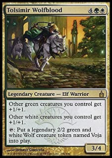 Magic: the Gathering - Tolsimir Wolfblood - Ravnica
