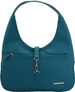 Lapis O Lupo Aquamarine Women's Handbag (Tourquise) Multi-functional pocket design