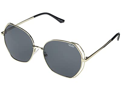 QUAY AUSTRALIA Big Love (Gold/Smoke) Fashion Sunglasses