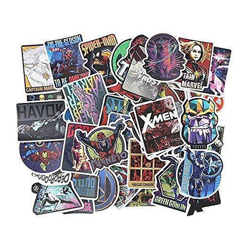 URAQT Aufkleber (100pcs), Q-Window Graffiti Decal Vinyl Stickers für Koffer Laptop Skateboard Kinder Auto Motorrad Fahrrad Snowboard iPhone Xbox One Nintendo Bomb Comic Aufkleber Sticker Wasserdicht