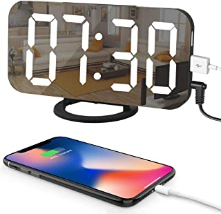 LED Digital Alarm Clock with Large 6.5