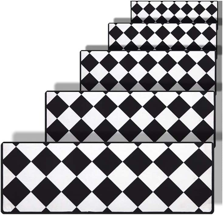 DIT Stair Tread Carpets for Steps N Carpet Free shipping New life New 5pcs Mat