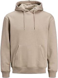 Jack & Jones Men's Plain Soft Hoodie Sweatshirt