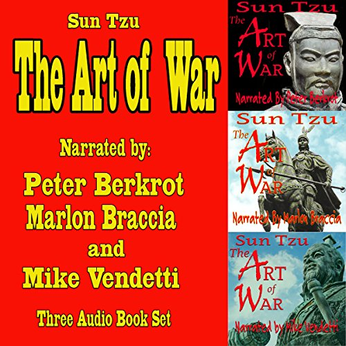 The Art of War: Three Complete Audiobook Set audiobook cover art