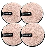 JPNK Reusable Makeup Remover Pads -EXTRA Large Double-sided 4 Pcs Set- Eco-friendly with Water Only