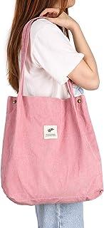 Cloele Damen Umhängetasche für Frauen Mädchen, Wiederverwendbare Handtasche mit Innentasche, Damen-Schultertaschen Shopper...