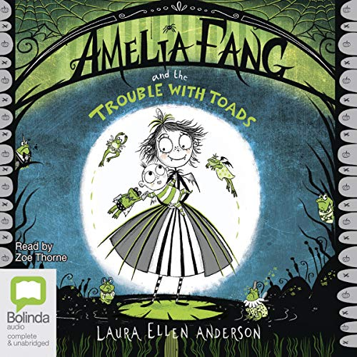 Couverture de Amelia Fang and the Trouble with Toads