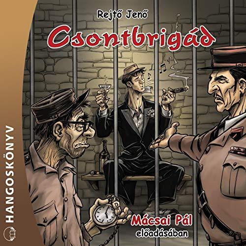 Csontbrigád audiobook cover art