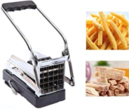 Stainless Steel French Fry Potato Cutter Manual Multipurpose Cucumber Slicer Cutter Machine Home Kitchen