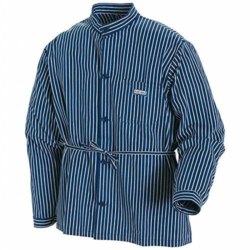 Blakläder Zimmermannshemd, 1 Stück, L, marineblau / weiß, 325011258810L