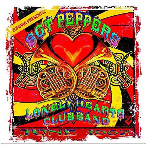 GREATBIGCANVAS Fab4 SGT. Pepper's Lonely Hearts Club 2