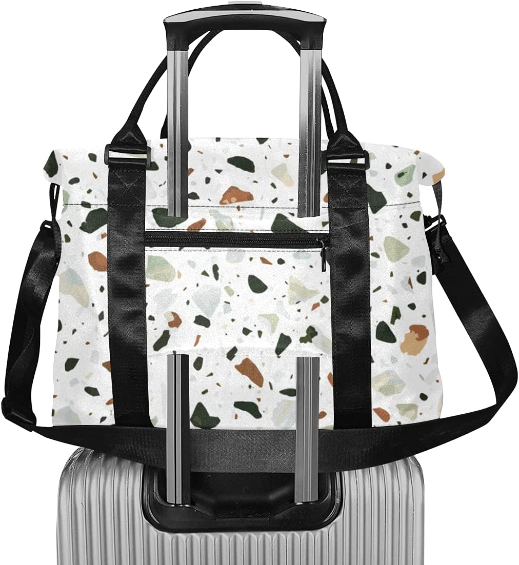 Natural Terrazzo Flooring Granite Luggage Extra Max 57% OFF Travel Bags OFFicial shop For