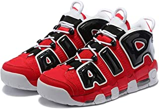 Men's More Breathable Uptempo '96 Non-Slip Wear-Resistant Training Athletic Comfortable Sneakers Air Cushion Fashion Basketball Shoes