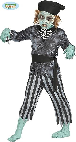 Children/'s Zombie Fantasma Pirata Festa Di Halloween Costume Età 4-12