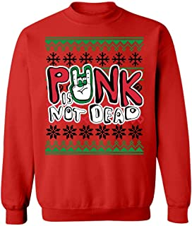 Punk Rock Music Ugly Christmas Sweater - Sweatshirt