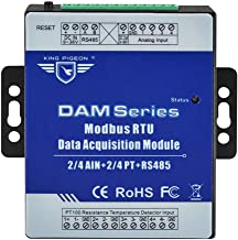 Modbus RTU Data Acquisition Module 4 Analog Input 4 Channel PT Resistance Thermometer 1 RS485