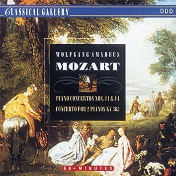 Mozart: Piano Concertos Nos. 11 & 14, Concerto for Two Pianos