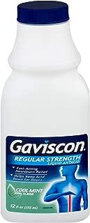 Gaviscon Liquid Regular Strength Cool Mint Flavor 12 oz (Pack of 6)