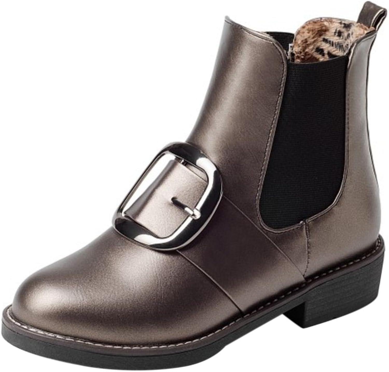 FANIMILA Women Fashion Boots Slip On