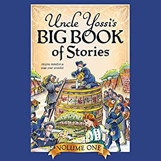 Uncle Yossi's Big Book of Stories - Vol. 1 audiobook cover art