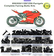 Matte Black for DUCATI 749 999 2003 2004 2005 2006 Mounting Kits Washers//Nuts//Fastenings//Clips//Grommets Xitomer Full Sets Fairing Bolts Kits