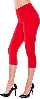 Dykmod - Leggings - Opaco - para mujer rojo 38