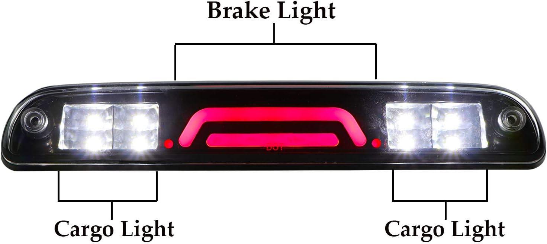 LED 3rd Third Brake Light Truck High Mount Stop Tail Light Lamp For Super Duty//Explorer Sport//Mazda