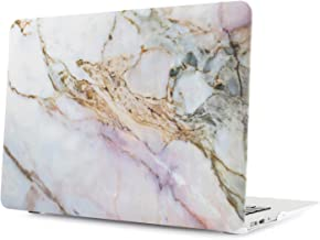 Digi-Tatoo Plastic Hard Case Compatible with Apple MacBook Older Version Air 13 Inch (Model: A1369/A1466) - Ductile & Sturdy Protection, Cracked Marble