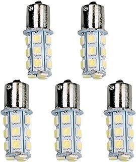 ZHOL 1156 7506 1003 1141 LED 18 SMD LED Bulbs Interior RV Camper Cool White 5-pack