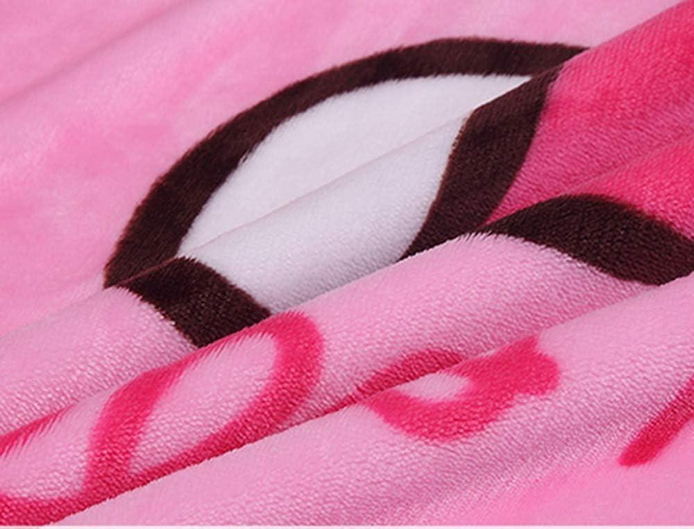 YIMU Blanket Cartoon Fawn Printing Throw Blanket 55 x 40/Soft Cover Flannel Cozy Plush Fleece Blanket for Boys Girls Kids Toddler Baby Fawn