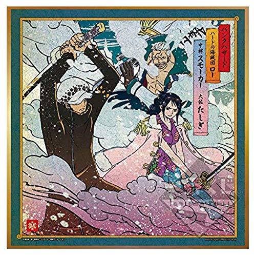 Banpresto kuji dress KENGOU C Prize UKIYOE SHIKISHI 20cm Low Smoker Tashigi
