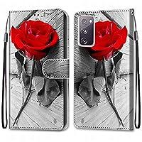 Laybomo Samsung Galaxy S20 FE / S20 Lite ケース カバー 手帳型, [カードスロット]および[キックスタンド]付きの磁気閉鎖完全保護設計ウォレットフリップ 財布型カバー対応 Galaxy S20 FE / S20 Lite電話ケース, 塗る 4