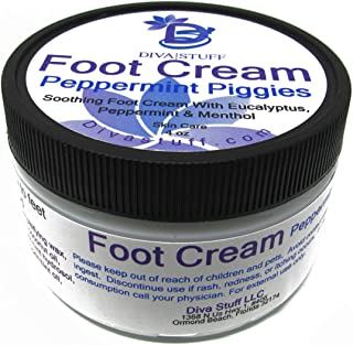 Sponsored Ad - Peppermint Piggies Soothing Foot Cream w/ Eucalyptus, Peppermint & Menthol, by Diva Stuff