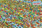 Studio B Wheres Waldo 2nd Edition Find Hidden Missing Figure Characters Illustration Wall Poster 24x36