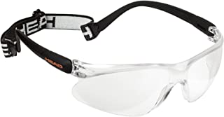 HEAD Racquetball Goggles - Impulse Anti Fog & Scratch Resistant Protective Eyewear w/Clip On Adjustable Strap