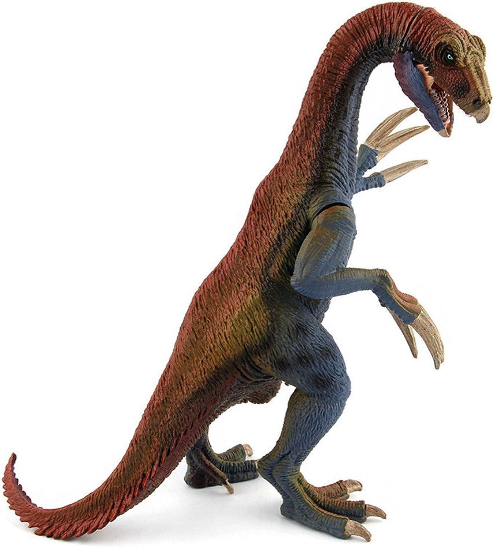 Toonol Simulation Jurassic Therizinosaurus Dinosaur Plastic Toy Action Figure Kids Gifts