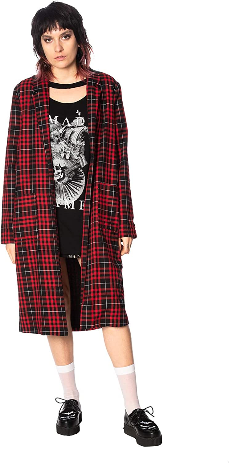 Lost Queen Smash It Up Duster Long Jacket