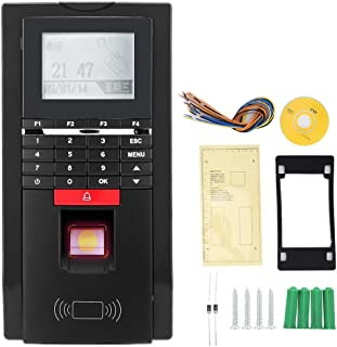Attendance Recorder, M-F131 Fingerprint Password ID Card Attendance Machine Access Control with TCP/IPM-F for Office Company Home