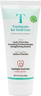 Spotlight Oral Care Toothpaste for Total Care   Prevents Cavities & Desensitizes Hypersensitivity   Vegan & Gluten-Free   ...