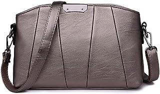 Shoulder Bag Hobos & Shoulder Bags Totes Women's Bag Messenger Bag Female Fashion Shoulder Messenger Bag Large Capacity Ladies Bag Handbag Clutch (Color : Bronze)