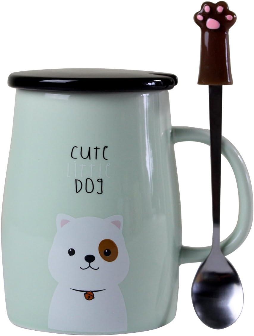 Angelice Home Max 58% OFF Cute Max 49% OFF Dog Mug Ceramic M Funny Coffee