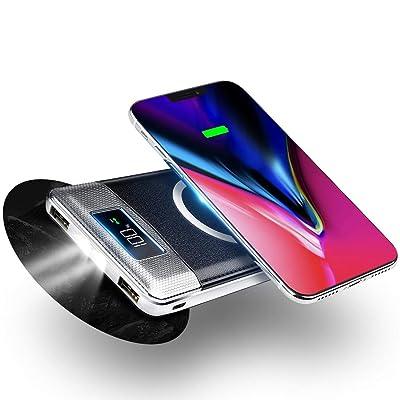FREDI Wireless Portable Charger Power Bank 1000...