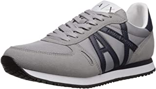 A X Armani Exchange Men's Retro Running Sneaker