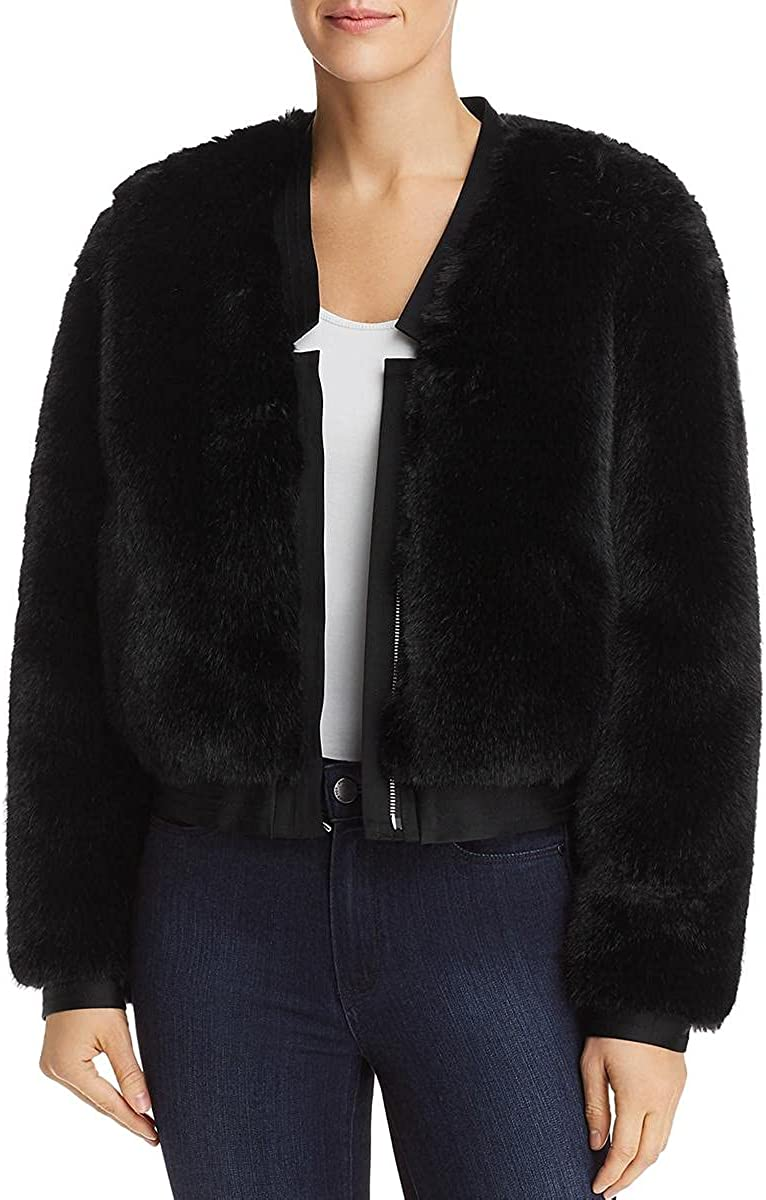 J Brand Women's Ashbey Faux Fur Jacket