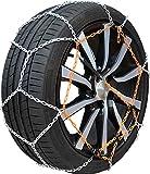 Chaine neige 9mm pneu 205/55R17 montage rapide fiabilité et sécurité garantie