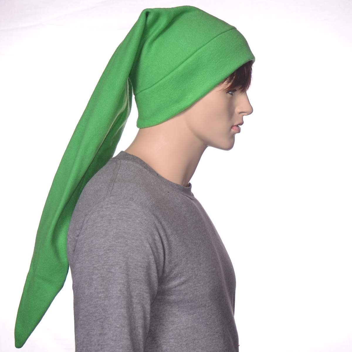 Super beauty product Time sale restock quality top Bright Green Elf Hat Stocking Cap Long
